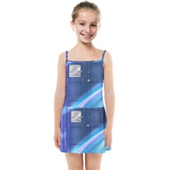 Tardis Space Kids  Summer Sun Dress