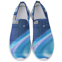 Tardis Space Men s Slip On Sneakers