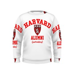 Harvard Alumni Just Kidding Kids  Sweatshirt