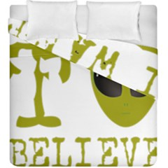 I Want To Believe Duvet Cover Double Side (king Size)
