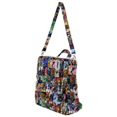Comic Book Images Crossbody Backpack