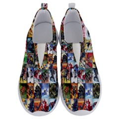Comic Book Images No Lace Lightweight Shoes