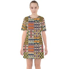 Ml 130 Sixties Short Sleeve Mini Dress by ArtworkByPatrick