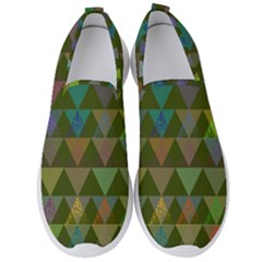 Zappwaits Triangles 2 Men s Slip On Sneakers by zappwaits