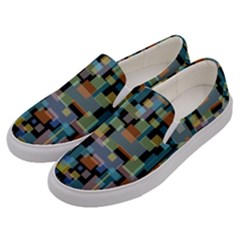 New York City Men s Canvas Slip Ons by zappwaits
