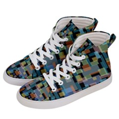 New York City Men s Hi Top Skate Sneakers by zappwaits