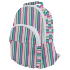Candy Stripes 1 Rounded Multi Pocket Backpack