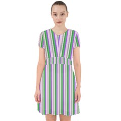 Candy Stripes 2 Adorable In Chiffon Dress by retrotoomoderndesigns