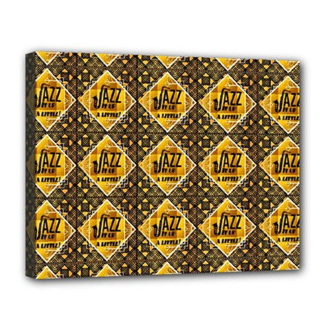 Jazz It Up Canvas 14  X 11  (stretched)