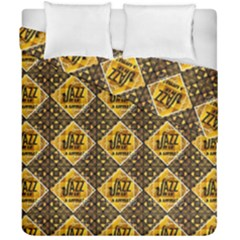 Jazz It Up Duvet Cover Double Side (california King Size)