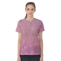 Lovely Hearts Women s Cotton Tee