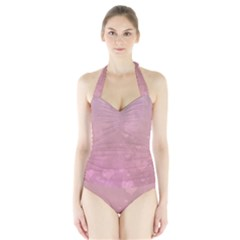 Lovely Hearts Halter Swimsuit by lucia