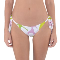 Bird Watching   Colorful Pastel Reversible Bikini Bottom