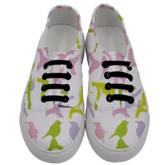 Bird Watching   Colorful Pastel Men s Classic Low Top Sneakers