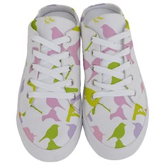 Bird Watching   Colorful Pastel Half Slippers by WensdaiAmbrose