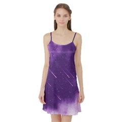 Meteors Satin Night Slip