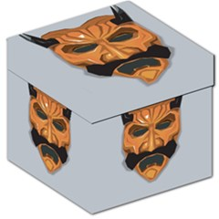 Mask India South Culture Storage Stool 12