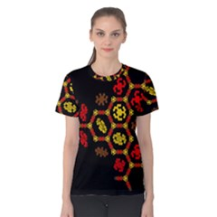 Algorithmic Drawings Women s Cotton Tee