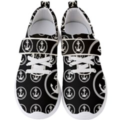 Anchor Pattern Men s Velcro Strap Shoes by Sudhe