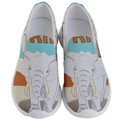 Africa Elephant Animals Animal Men s Lightweight Slip Ons