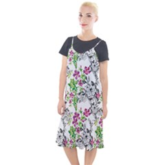 Drawing Flowers Camis Fishtail Dress by goljakoff