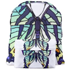 A Colorful Butterfly Giant Full Print Backpack