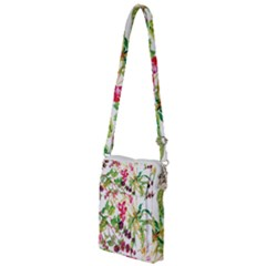 Painting Flowers Multi Function Travel Bag by goljakoff
