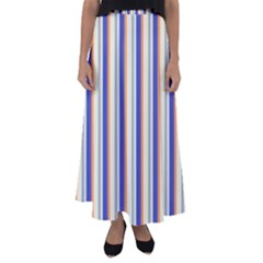 Candy Stripes 3 Flared Maxi Skirt