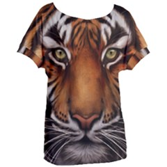 The Tiger Face Women s Oversized Tee