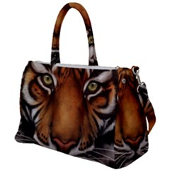 The Tiger Face Duffel Travel Bag