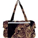 Angry Male Lion Gold Multi Function Bag View2