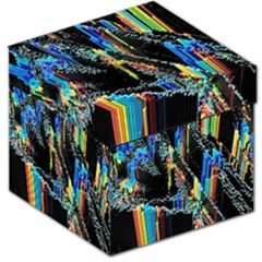 Abstract 3d Blender Colorful Storage Stool 12