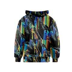 Abstract 3d Blender Colorful Kids  Pullover Hoodie