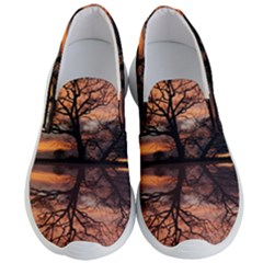 Aurora Sunset Sun Landscape Men s Lightweight Slip Ons