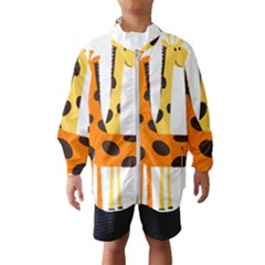 Giraffe Africa Safari Wildlife Windbreaker (kids)