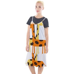Giraffe Africa Safari Wildlife Camis Fishtail Dress