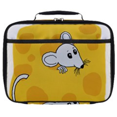Rat Mouse Cheese Animal Mammal Full Print Lunch Bag