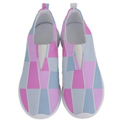 Geometric Pattern Design Pastels No Lace Lightweight Shoes