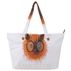Cat Smart Design Pet Cute Animal Full Print Shoulder Bag