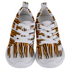 Tiger Bstract Animal Art Pattern Skin Kids  Lightweight Sports Shoes