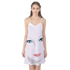 Face Beauty Woman Young Skin Camis Nightgown