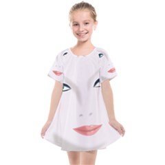 Face Beauty Woman Young Skin Kids  Smock Dress