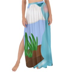 Pig Animal Love Maxi Chiffon Tie Up Sarong