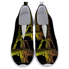 The Eiffel Tower Paris No Lace Lightweight Shoes by Sudhe