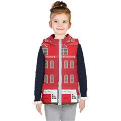 Red House Kids  Hooded Puffer Vest