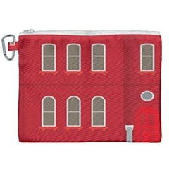 Red House Canvas Cosmetic Bag (xxl)