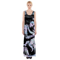 Mother Mary Maxi Thigh Split Dress