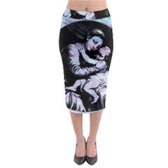 Mother Mary Midi Pencil Skirt