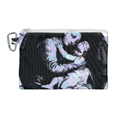 Mother Mary Canvas Cosmetic Bag (large) by snowwhitegirl