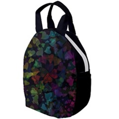 Falling Hearts  Travel Backpacks by LoolyElzayat